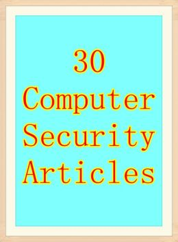 30 Computer Security Articles