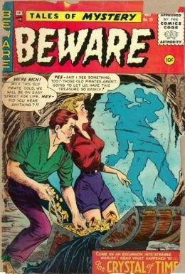 Beware Number 15 Horror Comic Book