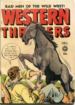 Western Thrillers Number 3 Western Comic Book