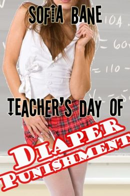 Teacher's Day of Diaper Punishment (Lesbian Wetting, Ageplay, Diapers)