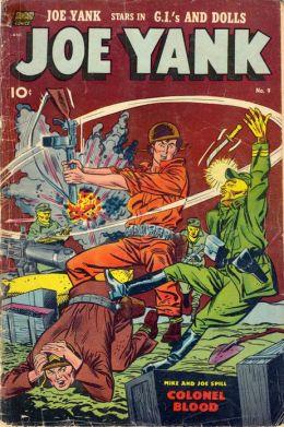 Joe Yank Number 9 War Comic Book