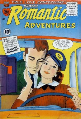 Romantic Adventures Number 104 Love Comic Book