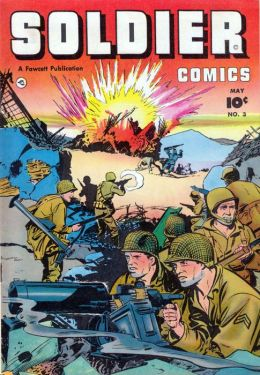 Soldier Comics Number 3 War Comic Book