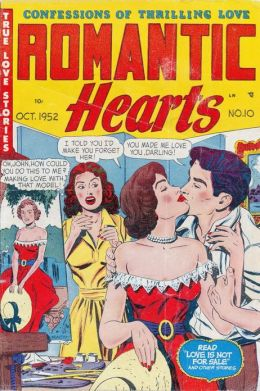 Romantic Hearts Number 10 Love Comic Book