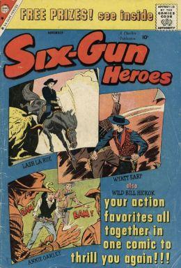 Six Gun Heroes Number 54 Western Comic Book