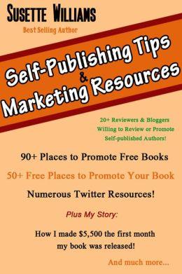 Self Publishing Tips & Marketing Resources