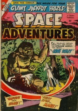 Space Adventures Number 29 Science Fiction Comic Book