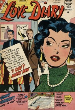 Love Diary Number 6 Romance Comic Book