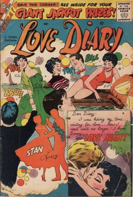 Love Diary Number 4 Romance Comic Book