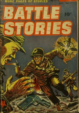 Battle Stories Number 11 War Comic Book