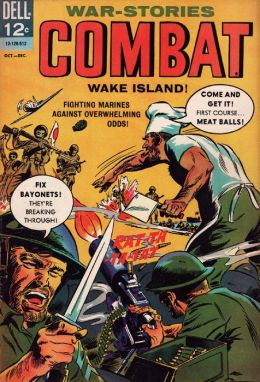 Combat Number 18 War Comic Book