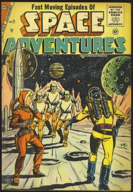 Space Adventures Number 21 Science Fiction Comic Book