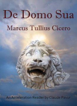 Cicero De Domo Sua