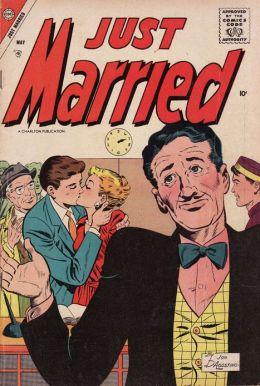 Just Married Number 3 Love Comic Book