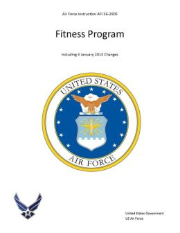 Air Force Instruction AFI 36-2905 Fitness Program including 3 January 2013 changes