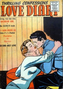 Love Diary Number 48 Romance Comic Book