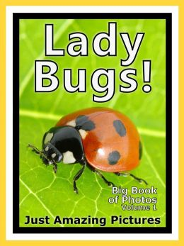 Just Ladybug Photos! Big Book of Lady Bug Photographs & Bugs Pictures of Ladybugs, Vol. 1