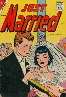 Just Married Number 5 Love Comic Book