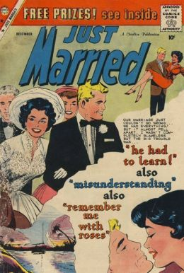 Just Married Number 11 Love Comic Book