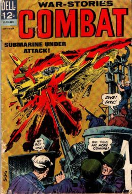 Combat Number 21 War Comic Book