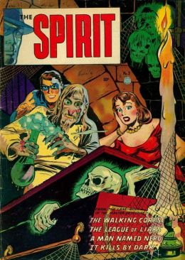 The Spirit Number 3 Super-Hero Comic Book