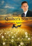 Book Cover Image. Title: The Quilter's Son:  Book Three: Nathan's Apprentice (Amish Romance), Author: Samantha Jillian Bayarr