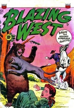 Blazing West Number 19 Western Comic Book
