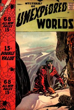 Mysteries of Unexplored Worlds Number 7 Fantasy Comic Book