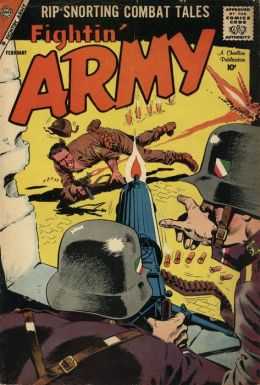 Fightin Army Number 28 War Comic Book