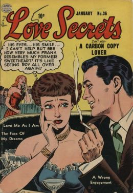 Love Secrets Number 36 Love Comic Book