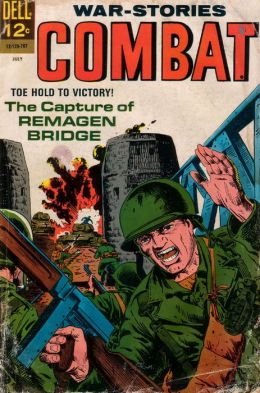 Combat Number 25 War Comic Book