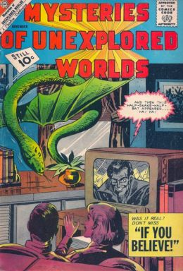 Mysteries Of Unexplored Worlds Number 27 Fantasy Comic Book