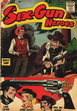 Six Gun Heroes Number 51Western Comic Book