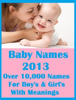 NOOK Kids: Baby Names 2013