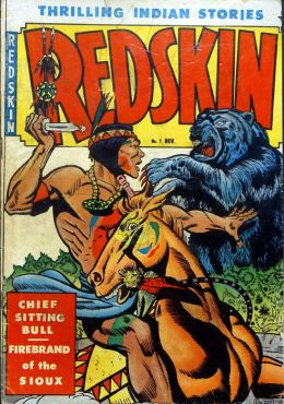 Redskin Number 7 Western Comic Book