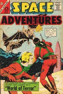Space Adventures Number 55 Science Fiction Comic Book