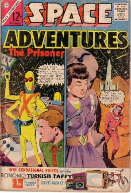 Space Adventures Number 54 Science Fiction Comic Book