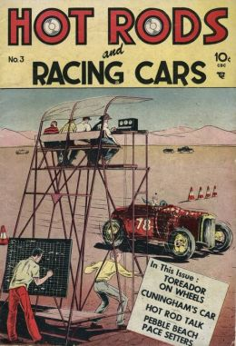 Hot Rods and Racing Cars Number 3 Car Comic Book