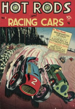 Hot Rods and Racing Cars Number 2 Car Comic Book