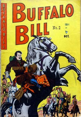 Buffalo Bill Number 2 Western Comic Book