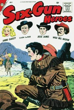 Six Gun Heroes Number 47 Western Comic Book