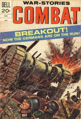 Combat Number 39 War Comic Book