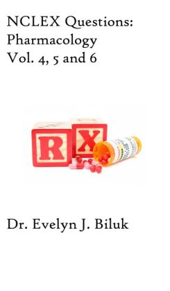 NCLEX Questions: Pharmacology Vol. 4, 5 and 6