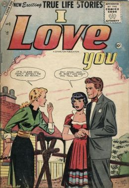 I Love You Number 8 Romance Comic Book