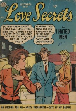 Love Secrets Number 40 Love Comic Book