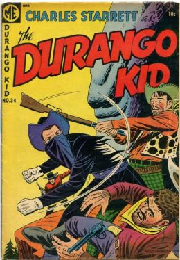 DURANGO KID Number 34 Western Comic Book