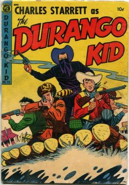 DURANGO KID Number 22 Western Comic Book