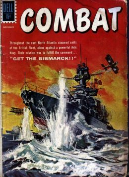 Combat Number 1 War Comic Book