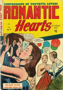 Romantic Hearts Number 4 Love Comic Book