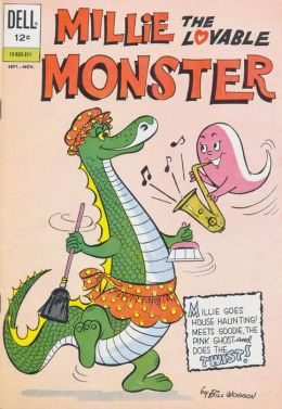Millie the Lovable Monster Number 1 Childrens Comic Book